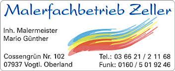 Malerbetrieb Zeller Logo
